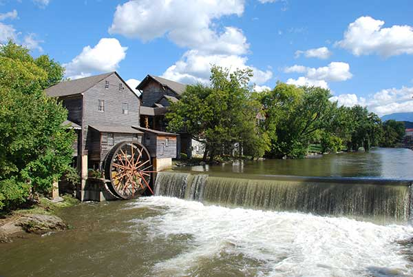 The Old Mill in Pigeon Forge TN.