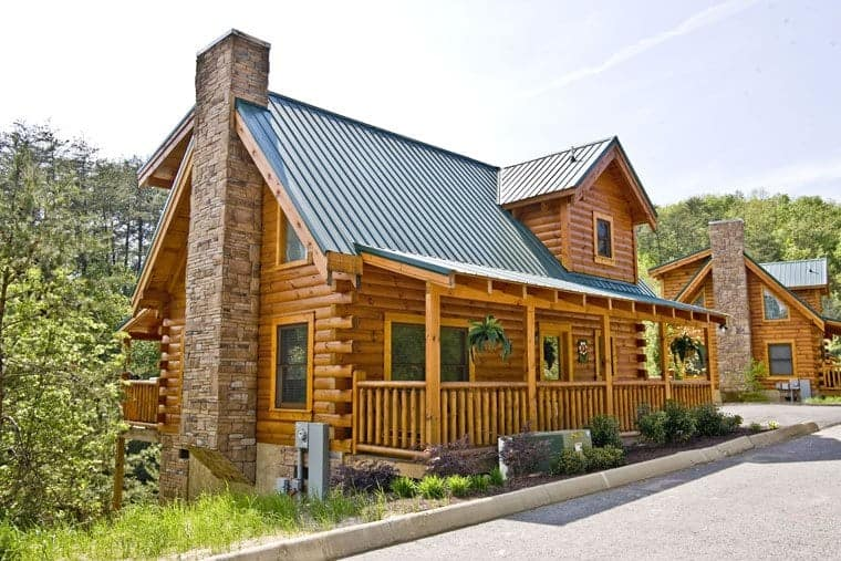 The Lakeside Getaway cabin rental at Eagles Ridge Resort in Pigeon Forge TN.