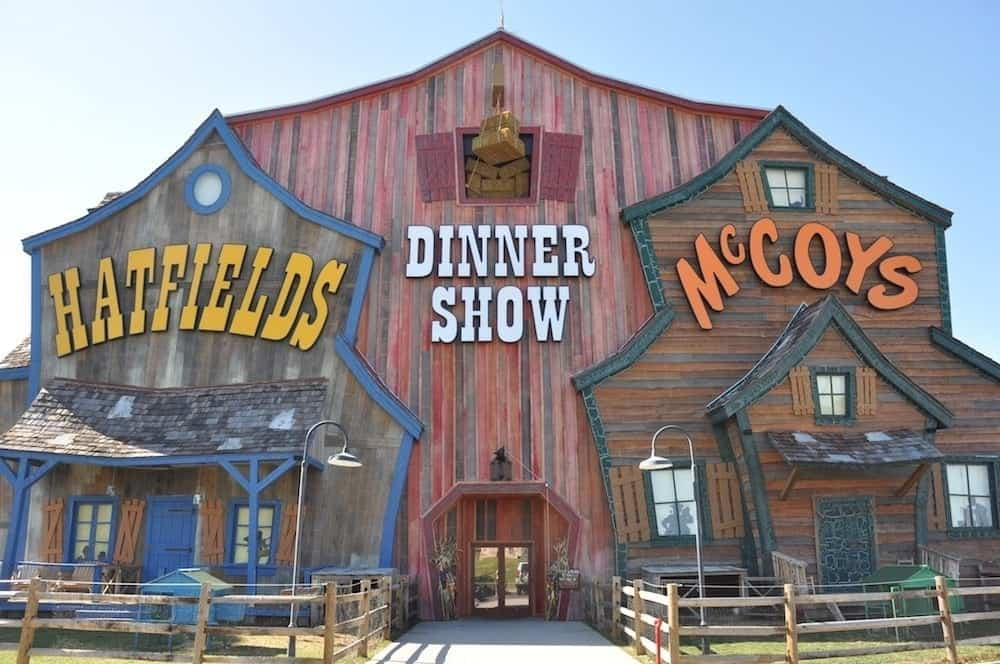Hatfield & McCoy Dinner Show in Pigeon Forge TN.