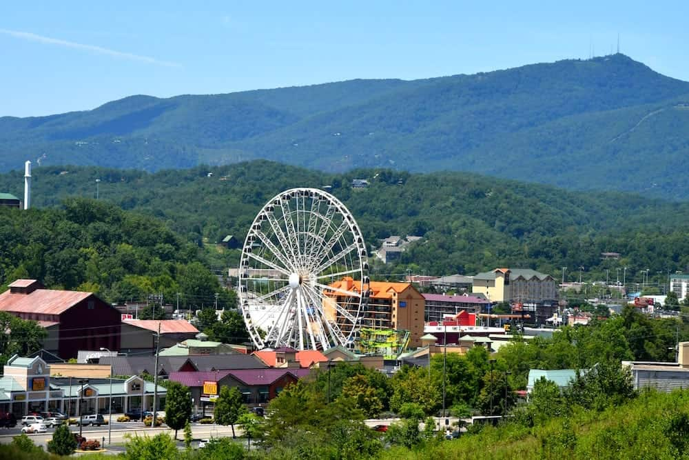 The Island and Smoky Mountains near Pigeon Forge Tn